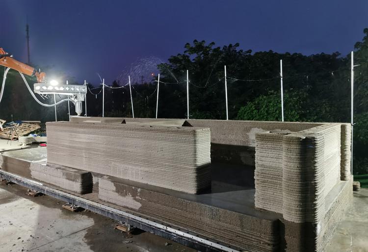 3D Printed Concrete House  Professor XU Weiguo's Team. Image Courtesy of XWG Archi Studio at Tsinghua University