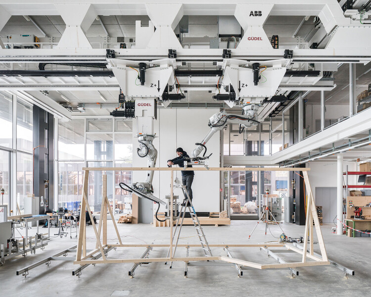 Digitally Designed & Built Projects: Using Technology to Explore New Ways of Construction, Courtesy of NCCR Digital Fabrication/Roman Keller