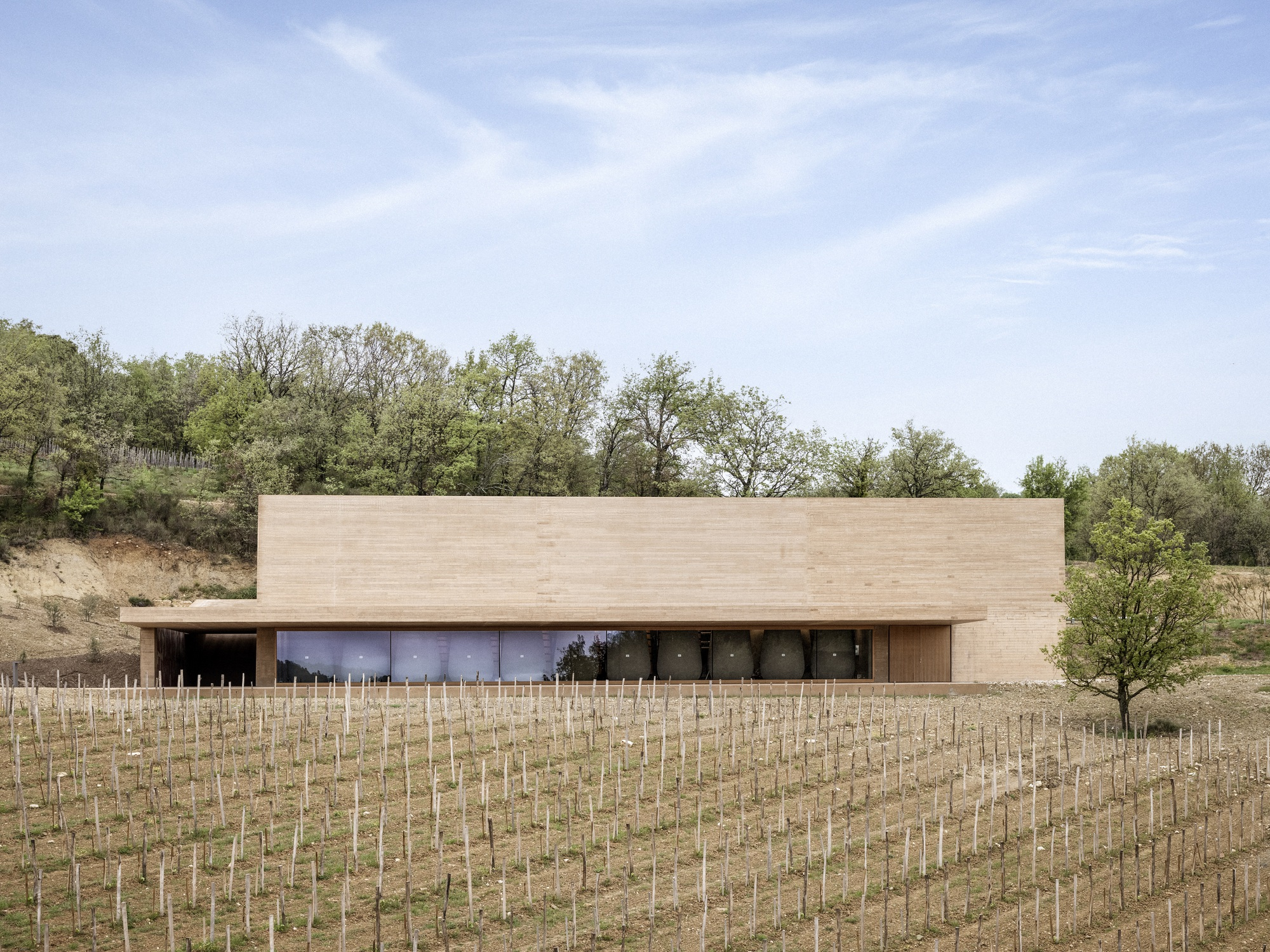 Les Davids Winery / Atelier Marc Barani