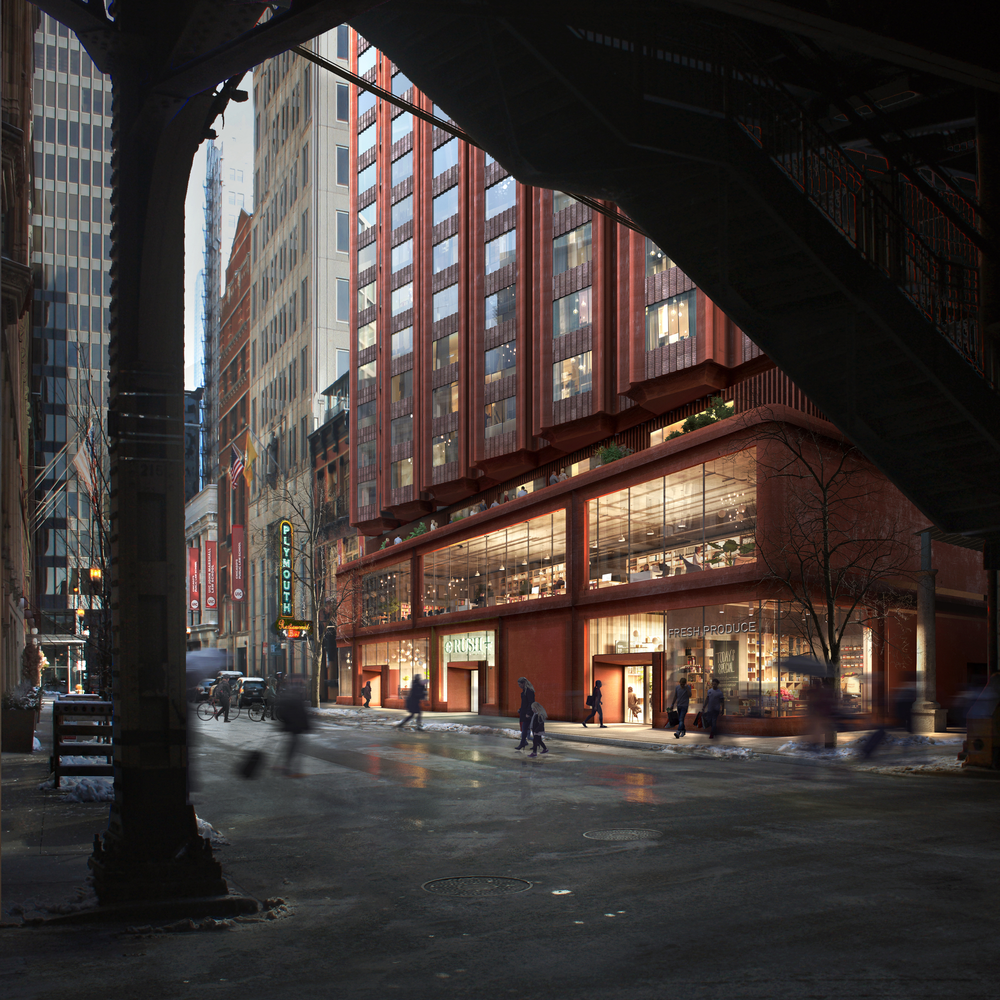 Studio Gang and the Community Builders Win the C40 Reinventing Cities Chicago Loop Competition