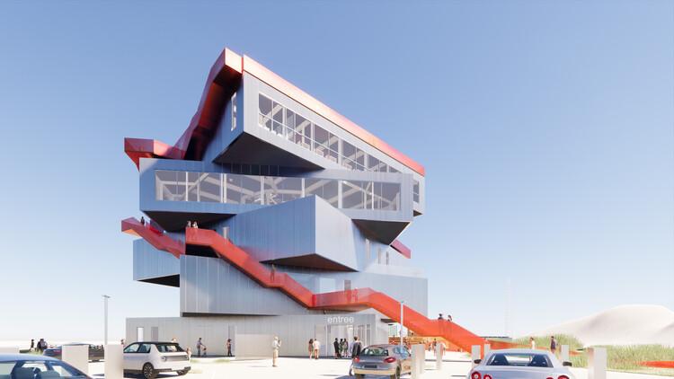 MVRDV projeta edifício de exposições no porto de Roterdã, Cortesia de MVRDV