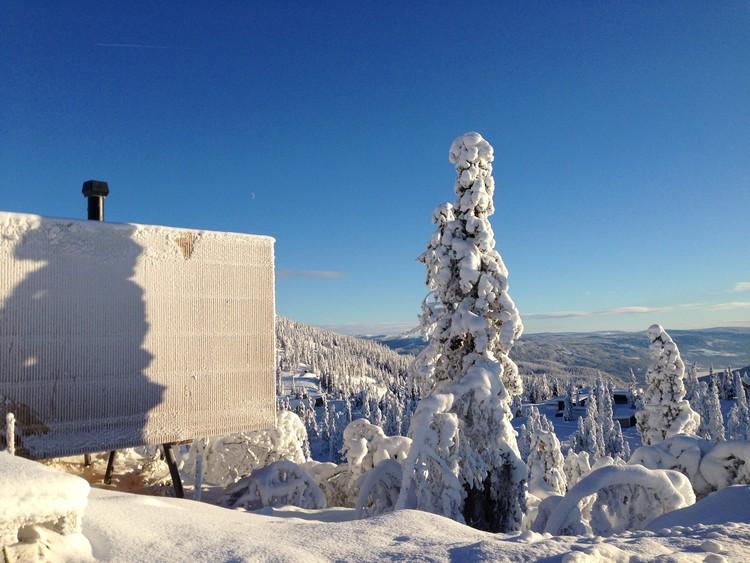 Cabin Kvitfjell / Lund Hagem Architects. Image © Sam Hughes
