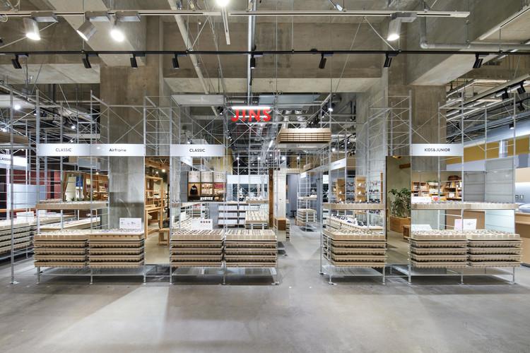 JINS Sharestar Hakodate Shop / Schemata Architects + Jo Nagasaka, © Tomoyuki Kusunose