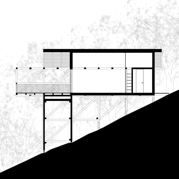 House on 12 Legs / RJZS Architects. Image