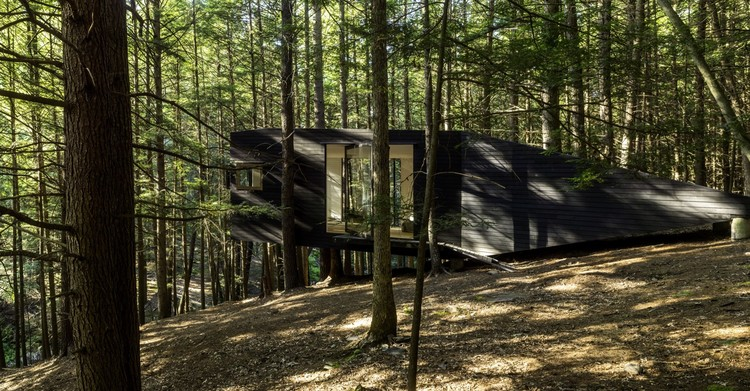 Half-Tree House / Jacobschang Architecture. Image © Noah Kalina