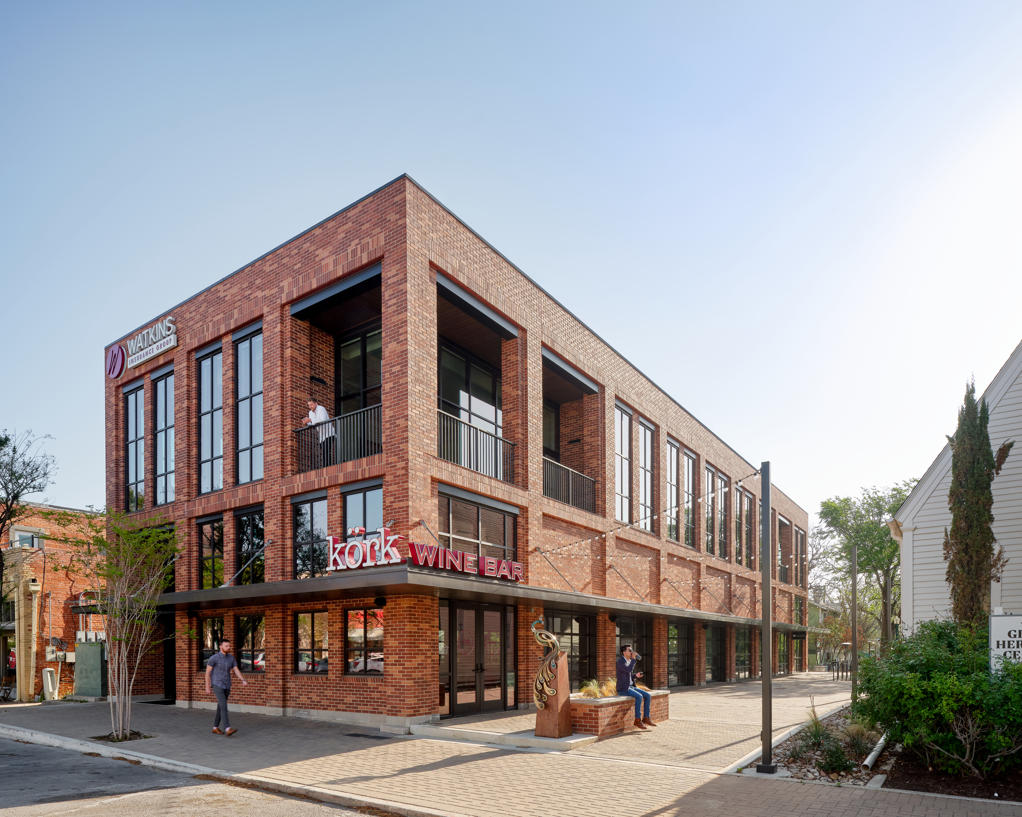 Watkins Insurance Building / Wang Architects