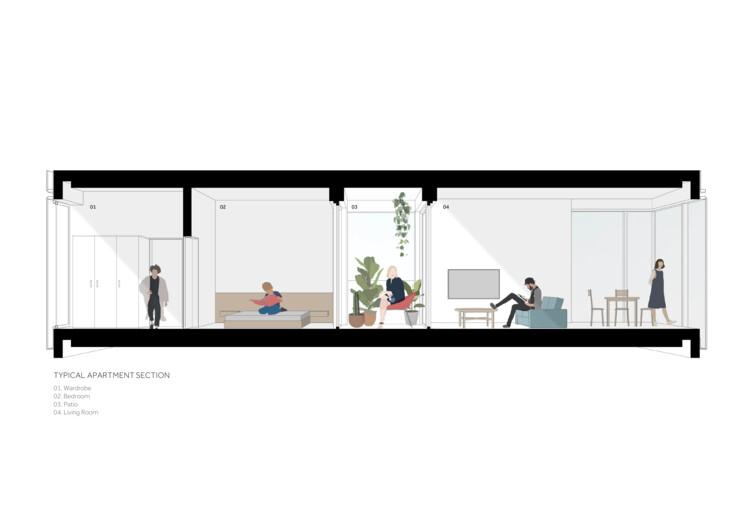 Типовая квартирная секция