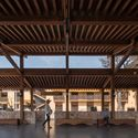 the shed is a space shared by villagers and tourists. Image © Timeraw Studio
