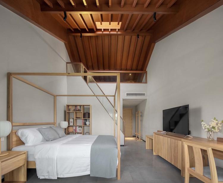 the loft room. Image © Haihua Wang