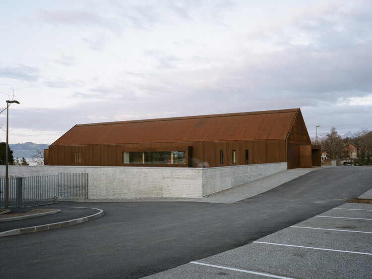 Escola Lugrin / ateliers O-S architectes, © Cyrille Weiner
