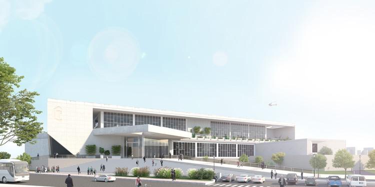 ABCH Arquitectura diseña la Nueva Central de Policía de San Juan, Argentina, Cortesía de ABCH Arquitectura