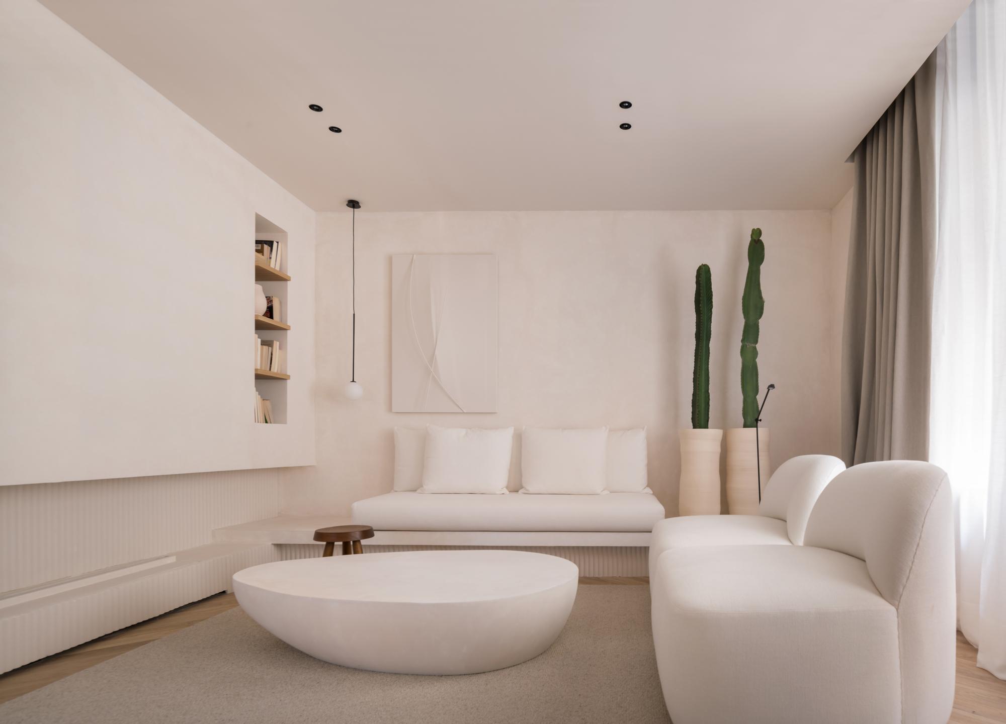 Blank Canvas Apartment / Sofía Oliva