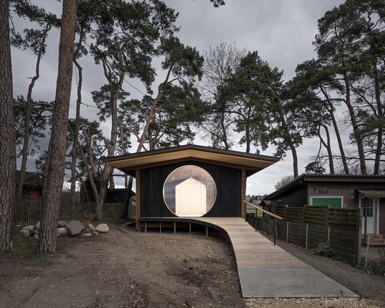 Cabana de Observação Île aux Oiseaux / LOCALARCHITECTURE, © Matthieu Gafsou