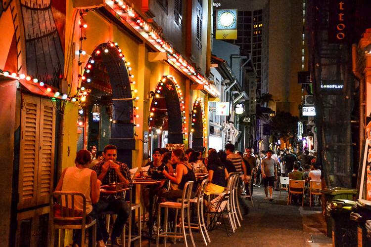 Haji Lane en Singapur. Foto de Michaela Loheit, licencia CC BY-ND 2.0