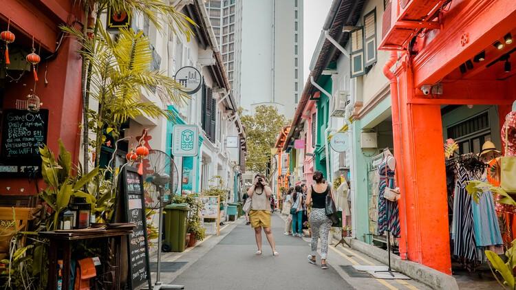 México, Buenos Aires y Perú: conoce las calles más interesantes del mundo, Haji Lane en Singapur. Foto de Bna Ignacio, vía Unsplash