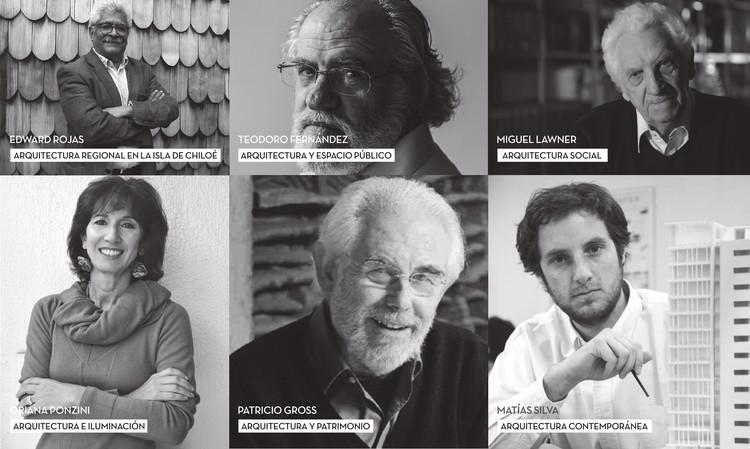 6 micro documentales sobre destacados arquitectos y arquitectas de Chile