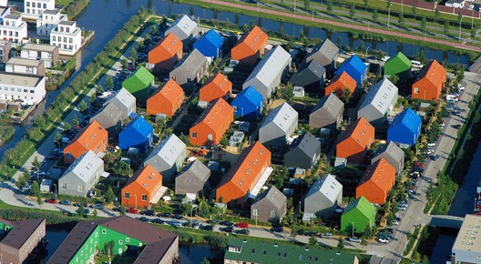 Ypenburg new experimental neighborhood. Via MVRDV. . Image Courtesy of Creative Commons