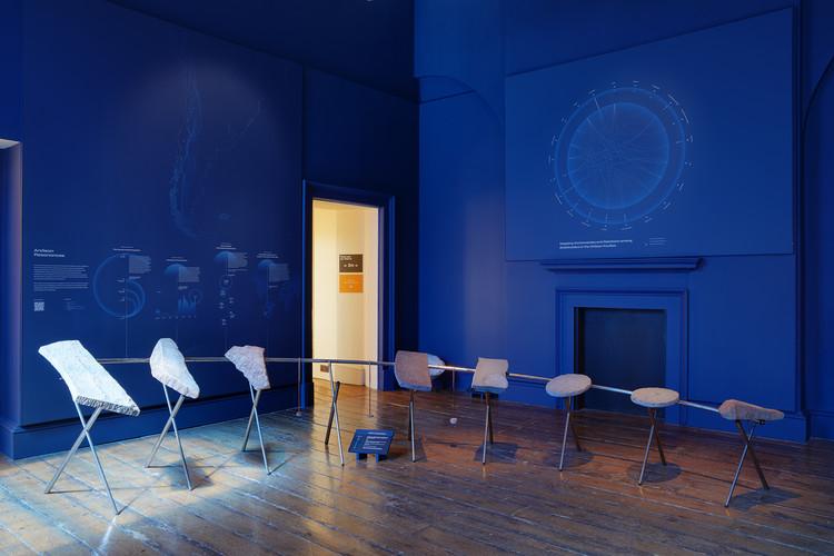 Chile, Venezuela, Pabellón de la Diáspora Africana e Israel, ganadores de la Bienal de Diseño de Londres 2021 , Bienal de Diseño de Londres 2021 Medalla: Chile - Resonancias Tectónicas. Imagen cortesía de ER