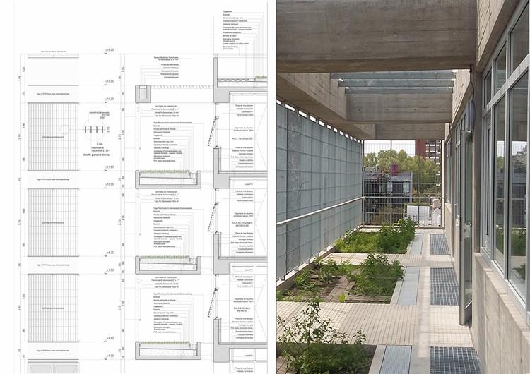 Escuela Siglo XXI: Detalles de diseño sustentable en la arquitectura escolar de Buenos Aires, Cortesía de Arqs. Mariano Gonzalez Moreno, Ana Paula Saccone, Sebastián Batarev, Pablo Villordo