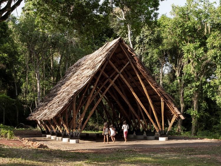 Ocuyrey Salão Comunitário MBYA Guarani / Julio Ignacio Paez, © Federico Cairoli