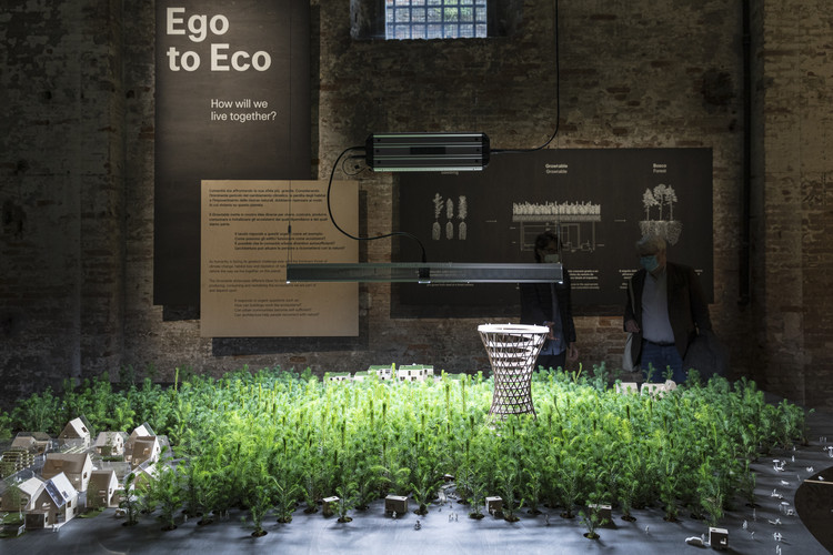"""Invited Architects at the 2021 Venice Architecture Biennale: Exhibitions Through the Lens of Laurian Ghinitoiu, EFFEKT Architects """"Ego to Eco"""". Image © Laurian Ghinitoiu"""