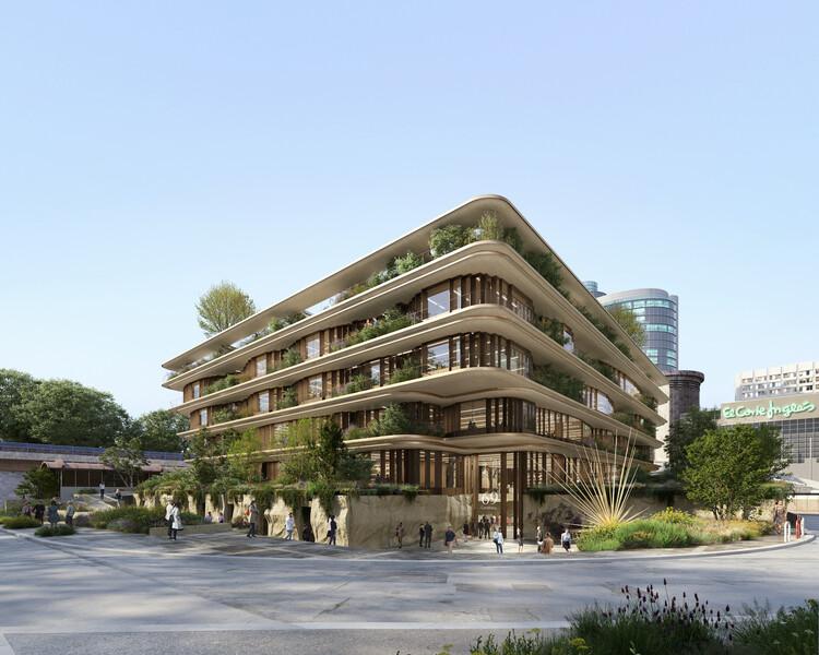 Heatherwick Studio gana concurso para diseñar edificio de oficinas en Madrid, © Lotoarchilab