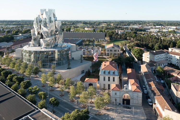 LUMA Arles / Gehry Partners, © Iwan Baan