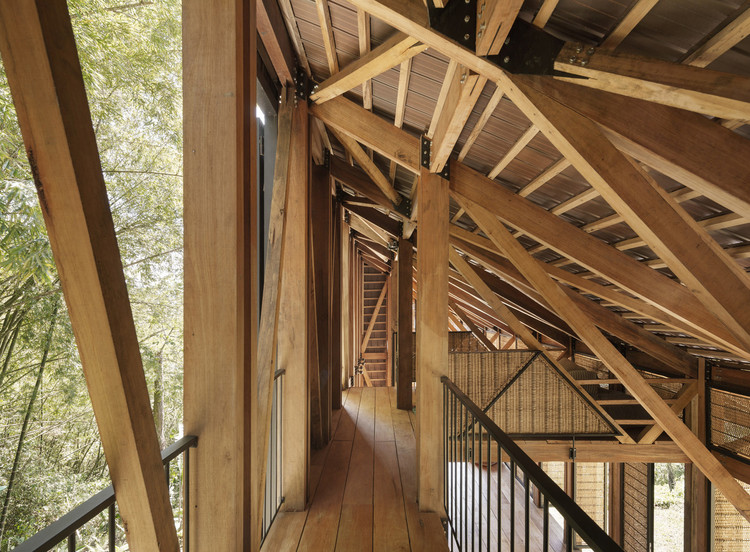 Woven House / Santiago Pradilla + Zuloark. Image © Federico Cairoli