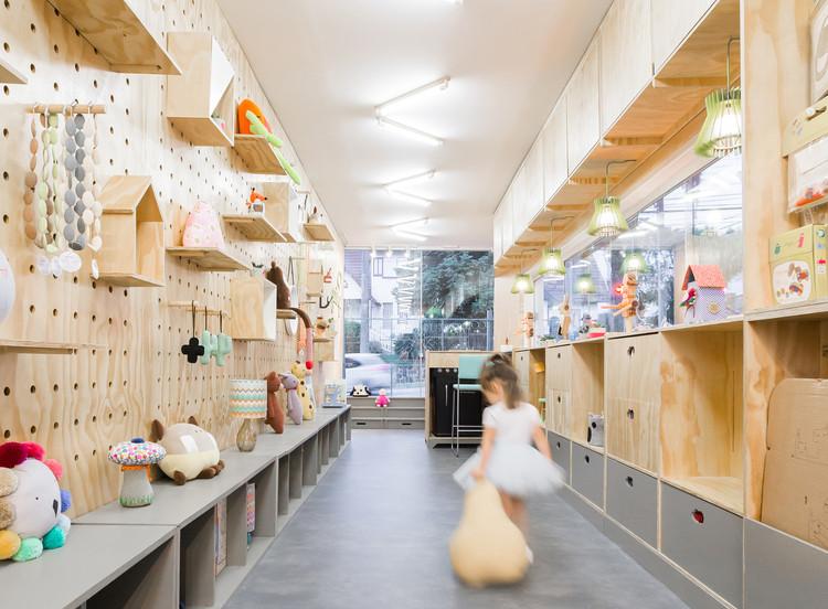 Tienda Garimpê / numa arquitetos. Image Cortesía de numa arquitetos