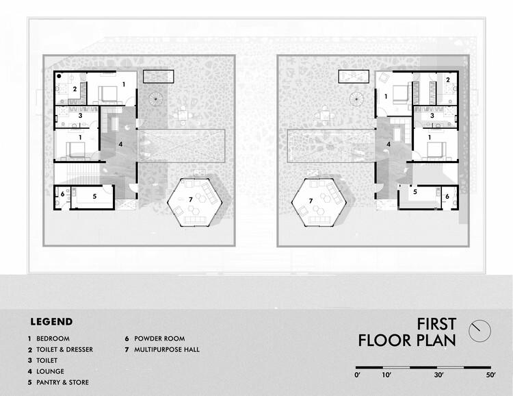 Denah - lantai 1