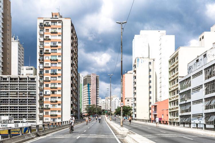 """Estudio crea índice para evaluar la adaptación de las ciudades al cambio climático, João Goulart elevado, el """"Minhocão"""", en São Paulo. Foto: iStock por GettyImages"""