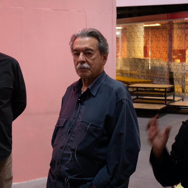 O legado de Paulo Mendes da Rocha: conversa com Renato Anelli e André Corrêa do Lago, Paulo Mendes da Rocha. Foto: © Manuel Sá