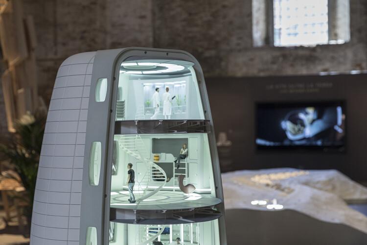 SOM presenta una visión de los asentamientos lunares en la Bienal de Arquitectura de Venecia 2021, © Laurian Ghinitoiu