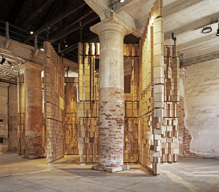 Interwoven: La instalación de leonmarcial para la Bienal de Venecia 2021, © Lucho Marcial y Gregori Civera