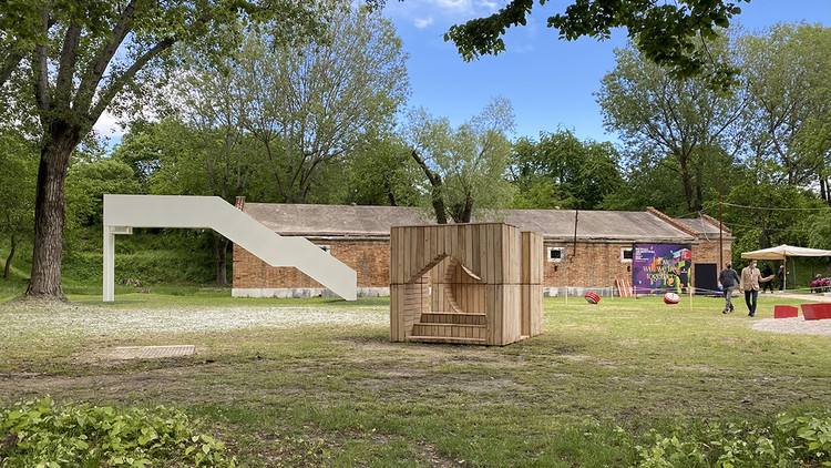 HHF Architects Reclaim the Playground at the 2021 Venice Biennale , Courtesy of HHF Architects
