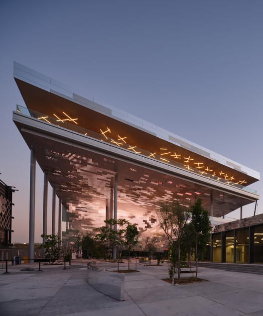 "Faltan 3 meses para la apertura de Expo 2020 Dubai: ""conectar mentes y crear el futuro"", Pabellón Francia. Imagen cortesía de Expo Dubai 2020"