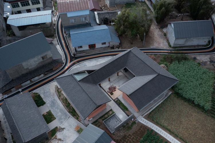 aerial view. Image © Arch-Exist