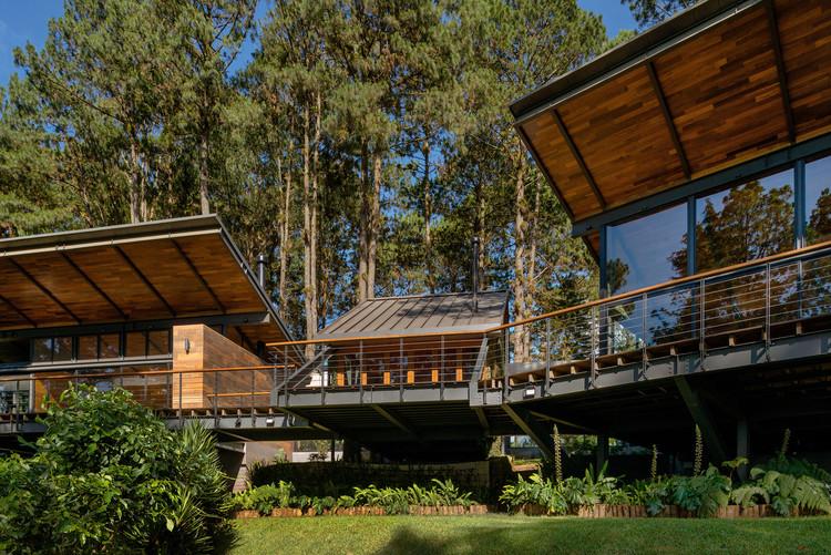 La Cabañita / Peace Architecture.  Imagen © Andrés Asturias