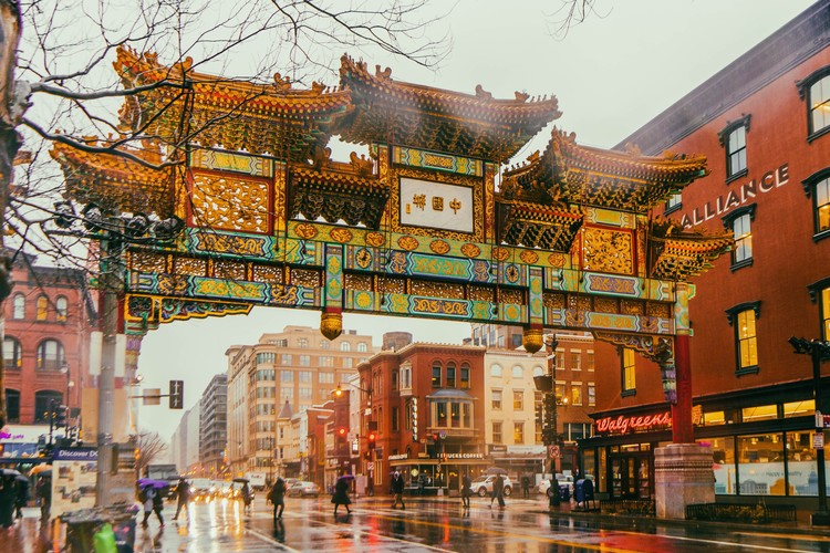 Cities Within Cities: Chinatown Around The World, Chinatown, Washington DC, USA. Image © Richard Tao via Unsplash