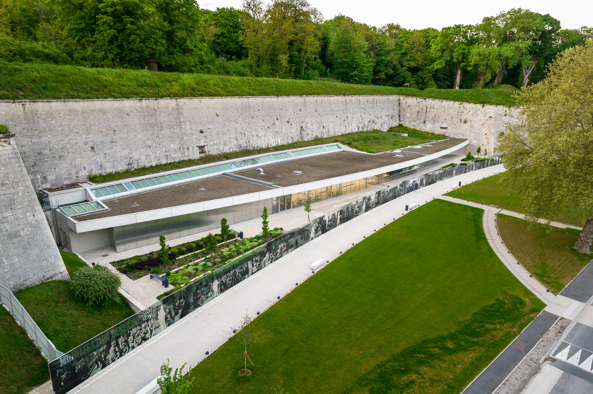 Verdun Citadel / INCA Architectes