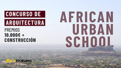 Concurso de arquitectura: Escuela urbana africana