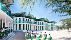 Escola La Référence de Ganthier / Studio PHH Architects