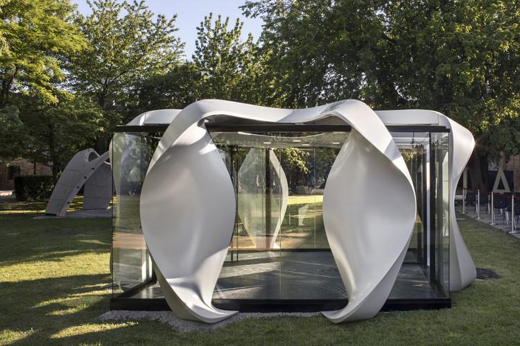ZHA Exhibits Modular Meeting Space at the 2021 Venice Biennale , © Alessandra Chemollo