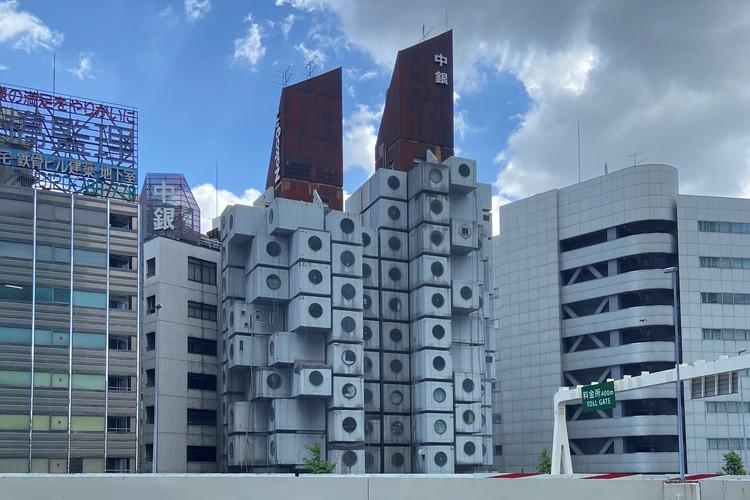 La Torre Cápsula Nakagin será desmantelada (y regenerada en forma de unidades modulares de alojamiento), Cortesìa de Nakagin Tower