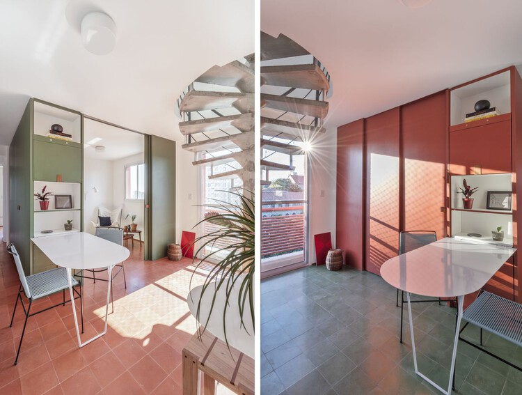 Двухместные апартаменты / Estúdio Lava.  Изображение © Юлия Новоа