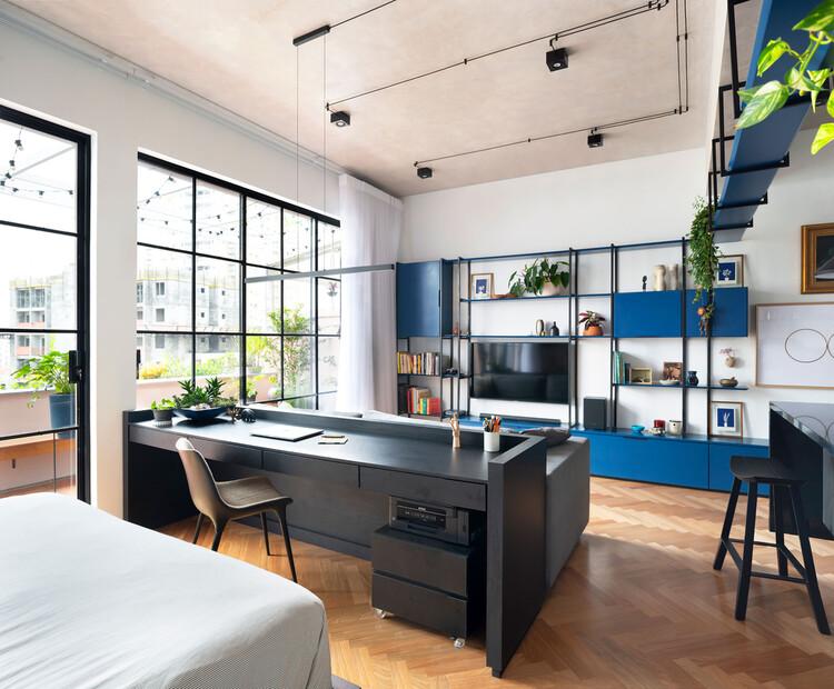 Синие апартаменты / ENTRE Arquitetos.  Изображение © Gui Rebelo