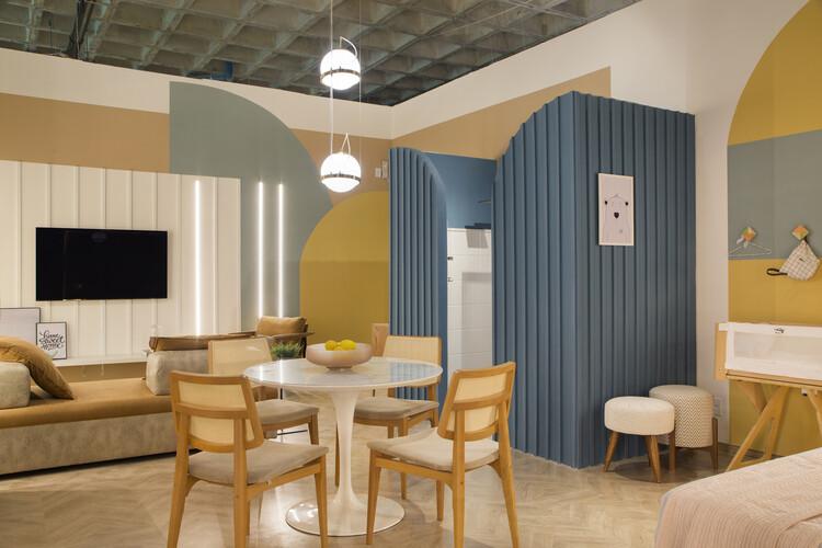 Апартаменты Cores / Camila Fleck Arquitetura.  Изображение © Денилсон Мачадо