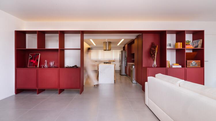 Апартаменты Brigadeiro / Nommo Arquitetos.  Изображение © Бренда Понтес