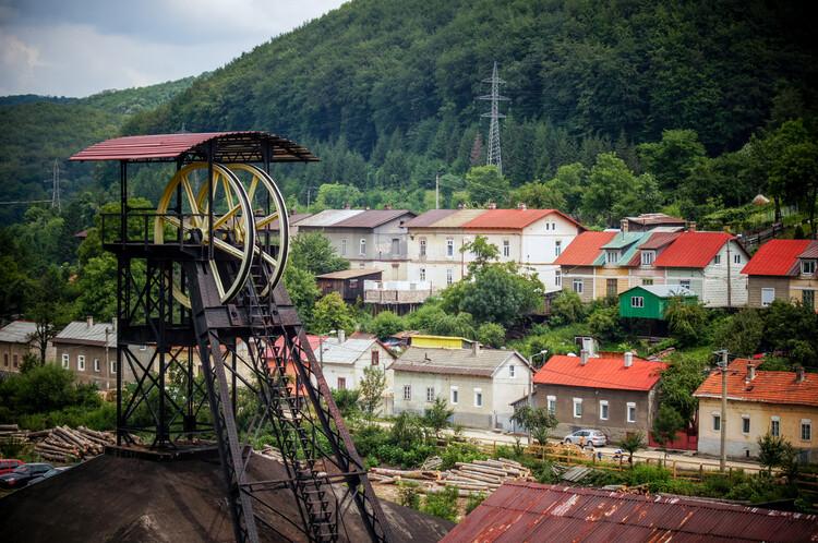 Anina, una ciudad minera en Rumania.  Foto © Theodor Constantinescu