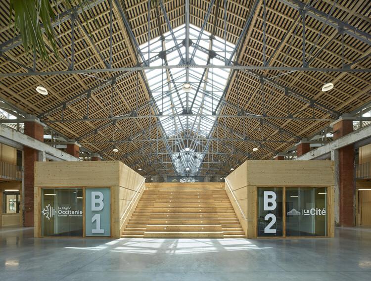 La Cité Innovation Hub / Taillandier Architectes Associés, © Roland Halbe